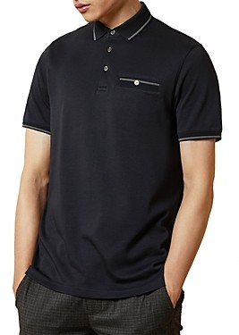 Ted Baker Boomie Color-Tipped Polo Shirt