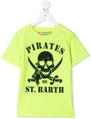Mc2 Saint Barth Kids Pirates T-shirt