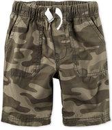 Carter's Camo-Print Shorts, Little Boys (2-7)