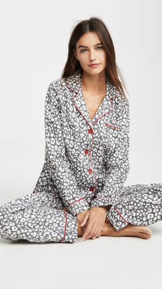 PJ Salvage Fit Flannel PJ Set