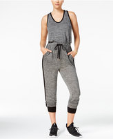 Material Girl Active Juniors' Racerback Jumpsuit, Only at Macy's