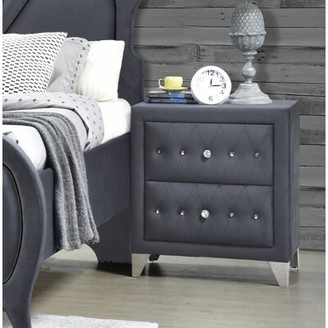 Gray Night Stand Shop The World S Largest Collection Of Fashion Shopstyle