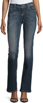 Miss Me Boot-cut Jeweled-Rivet Jeans, Medium-Dark Wash