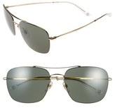 Gucci 58mm Navigator Sunglasses