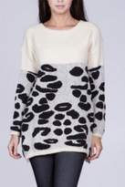 Ark & Co Leopard Pattern Sweater