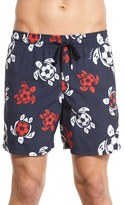 Vilebrequin Men's 'Moorea - Soccer Turtles' Swim Trunks