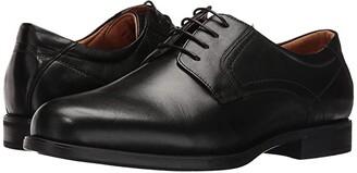 Florsheim Midtown Plain Toe Oxford (Black Smooth) Men's Plain Toe Shoes