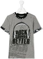 John Galliano layered effect T-shirt - kids - Cotton - 6 yrs