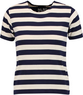 Nlst Striped cotton-jersey T-shirt