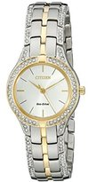 Citizen Eco-Drive Women's FE2064-52A Silhouette Crystal Watch