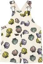 Stella McCartney Seashells Cotton Sweatshirt Overalls
