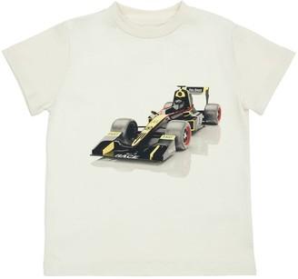 Molo Race Car Organic Cotton T-Shirt
