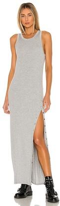 LAmade Cabana Side Snap Maxi Dress