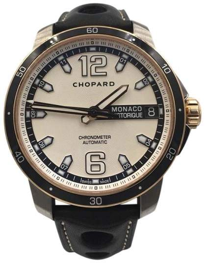 Chopard Grand Prix de Monaco 168568-9001 Titanium Automatic 44.5mm Mens Watch