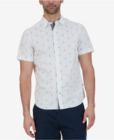 Nautica Men's Big & Tall Anchor-Print Shirt