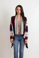 Goddis Livie Drape Sweater In Thunder