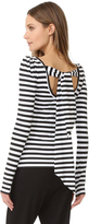 Natasha Zinko Striped Top