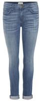 Current/Elliott The Rolled Skinny Mid-rise Skinny Jeans