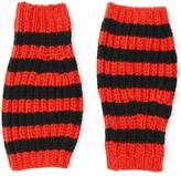 Gucci Striped wool fingerless gloves
