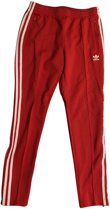 adidas Red Cloth Trousers