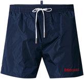 DSQUARED2 logo printed swim shorts - men - Polyamide - 48