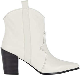 Senso Quillan II Western Leather Ankle Boots