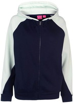 L.A. Gear Cut and Sew Full Zipped Hoody Ladies