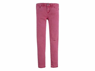 Levi's Kids Lvg 710 Color Jean Jeans Girls Camellia Rose 2 Years