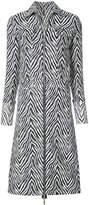 Helmut Lang Motley zebra trench coat