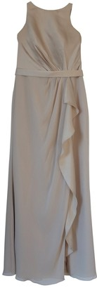 Vera Wang Beige Dress for Women