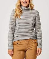 Carve Designs Women's Turtlenecks Pewter - Pewter Stripe Whitney Turtleneck - Women