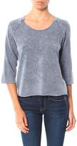 Stateside 3/4 Sleeve Raglan Sweatshirt