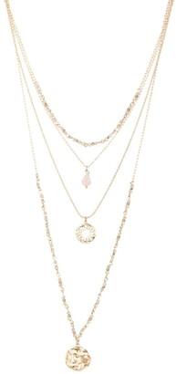 Saachi Aelina Layered Pendant Necklace