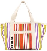 Isabel Marant Darwen striped tote bag