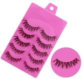 Hot Sale!5 Pairs False Eyelashes,Canserin Natural Handmade Soft Long Eyelashes