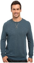 True Grit Double Side Slub and Knit Crew Neck Sweatshirt w/ Stitch Details