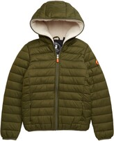 Save The Duck Water Resistant Fleece Lined Hooded Jacket