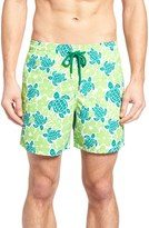 Vilebrequin Men's Hawaiian Turtle Print Swim Trunks