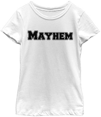 Fifth Sun Women's Tee Shirts WHITE - White 'Mayhem' Fitted Tee - Juniors