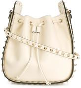 Valentino Garavani Valentino Rockstud bucket shoulder bag - women - Calf Leather - One Size