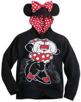 Disney Minnie Mouse Ear Hoodie for Girls - Walt World