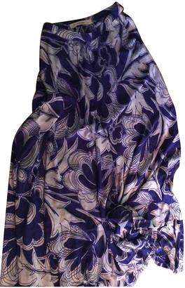 Jean Louis Scherrer Jean-louis Scherrer Blue Silk Dress for Women