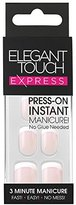 Elegant Touch Pre-Glued Express Nails, French Pink by