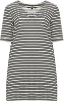 Twister Plus Size Striped long tunic
