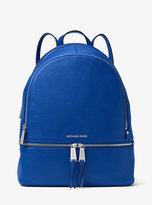 Michael Kors Rhea Large Leather Backpack