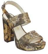 Anne Klein Lorrie Floral Platform Sandals