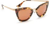 Prada Metal Bridge Sunglasses