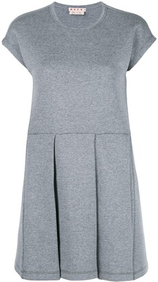 Marni pleated skirt dress