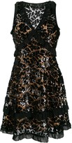 MICHAEL Michael Kors sequinned lace mini dress