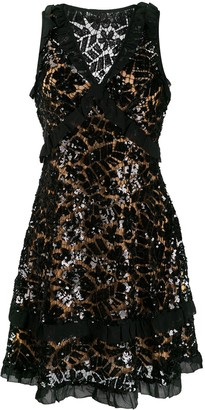 MICHAEL Michael Kors Sequinned Lace Mini Dress